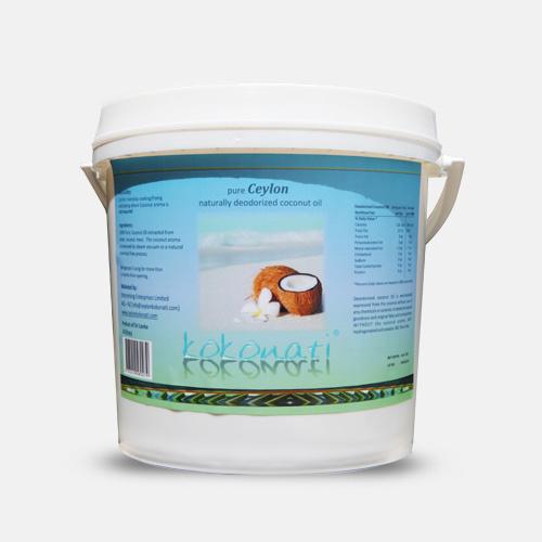 Steam Deodorized Coconut Oil 4lt