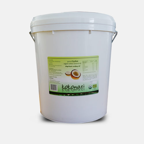 Organic White Coconut Oil 20lt