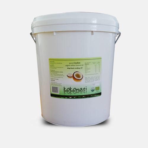 Organic White Coconut Oil 20lt