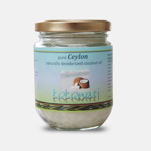 Steam Deodorised Coconut Oil 200ml