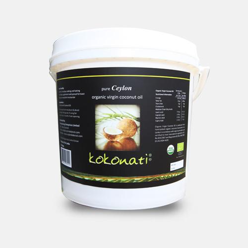 Organic Virgin Coconut Oil 10lt