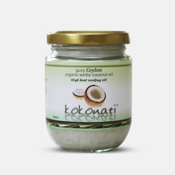 Organic White Coconut Oil 200ml