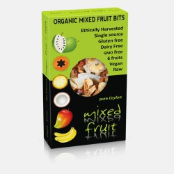 Organic Dried Mixed Fruit Bits 100gr
